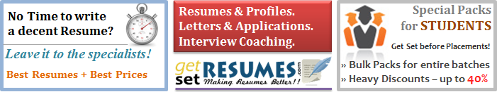 Get Set Resumes - Resume Writing and Interview Coaching